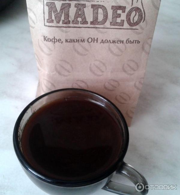 зеленый кофе madeo отзывы
