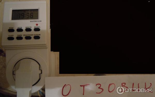Розеточный Таймер Трэ 01 Инструкция