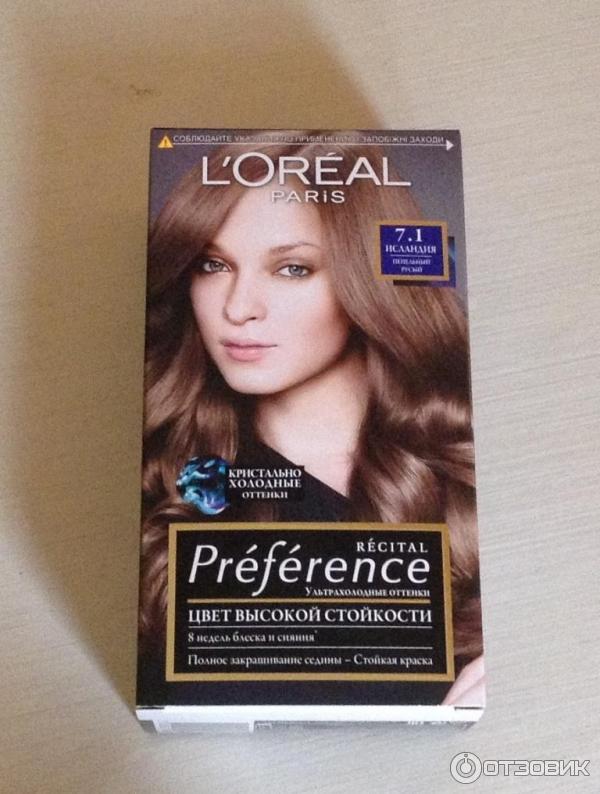 Лореаль окрашивание волос краска отзывы