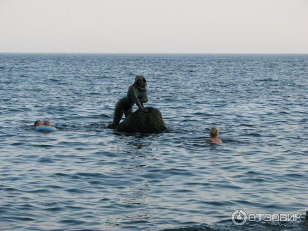 фото мисхор пляж русалка