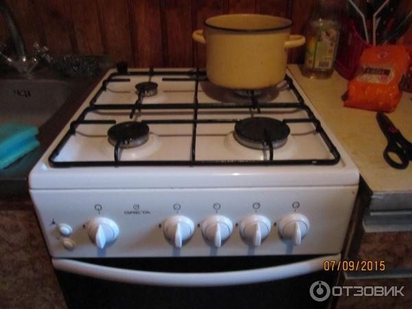 Газовые плиты в новых квартирах