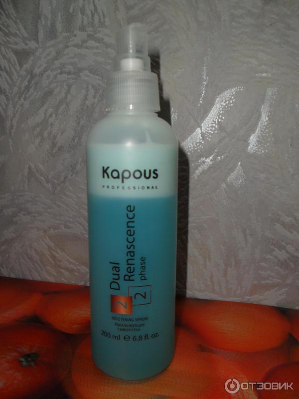 Капус термозащита для волос отзывы