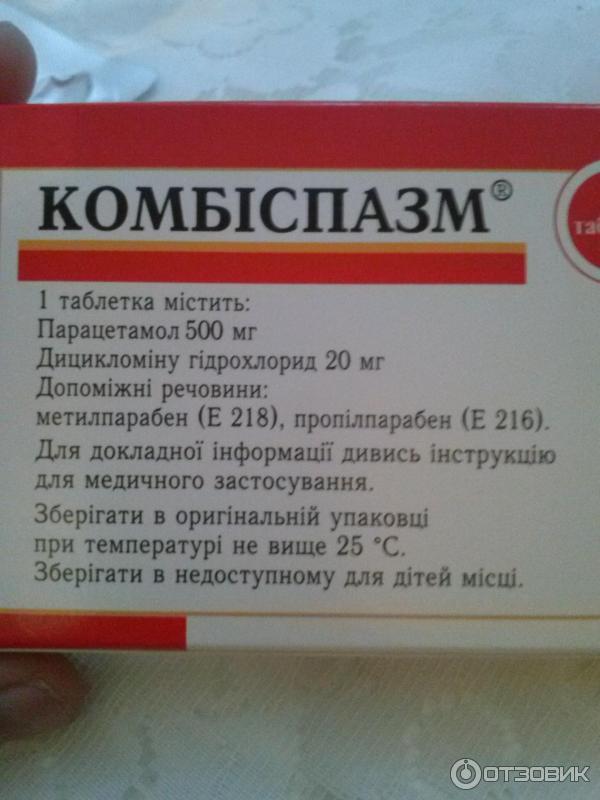 Дицикломин фото