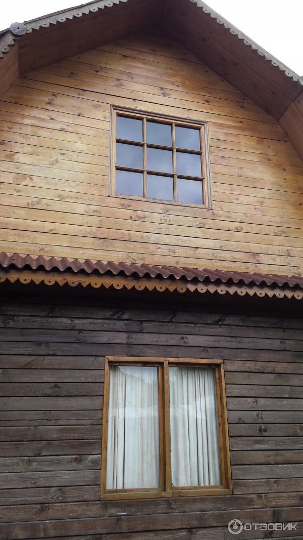 дом покрашенный сенеж фото