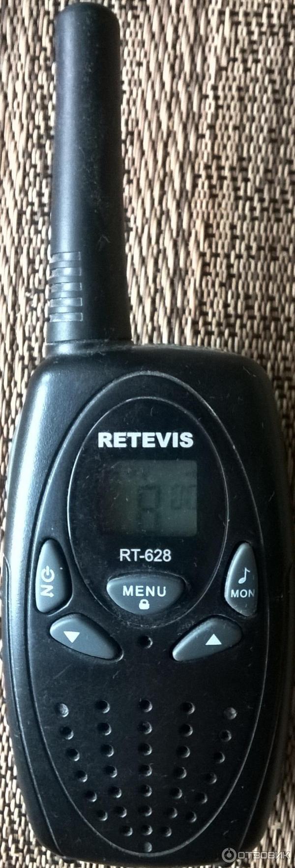 инструкция на русском рация retevis rt-628