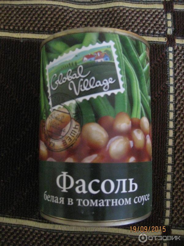 Белая консервированная фасоль в томатном соусе салаты