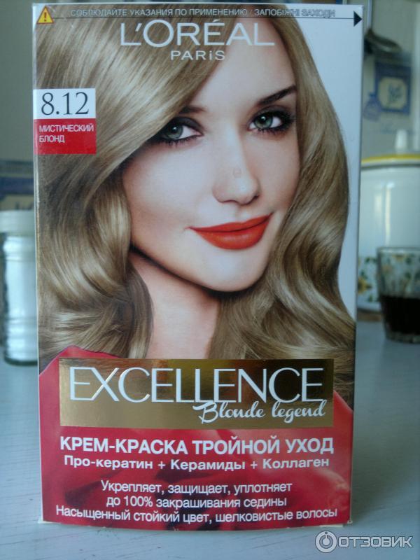 краска для волос блонд лореаль отзывы