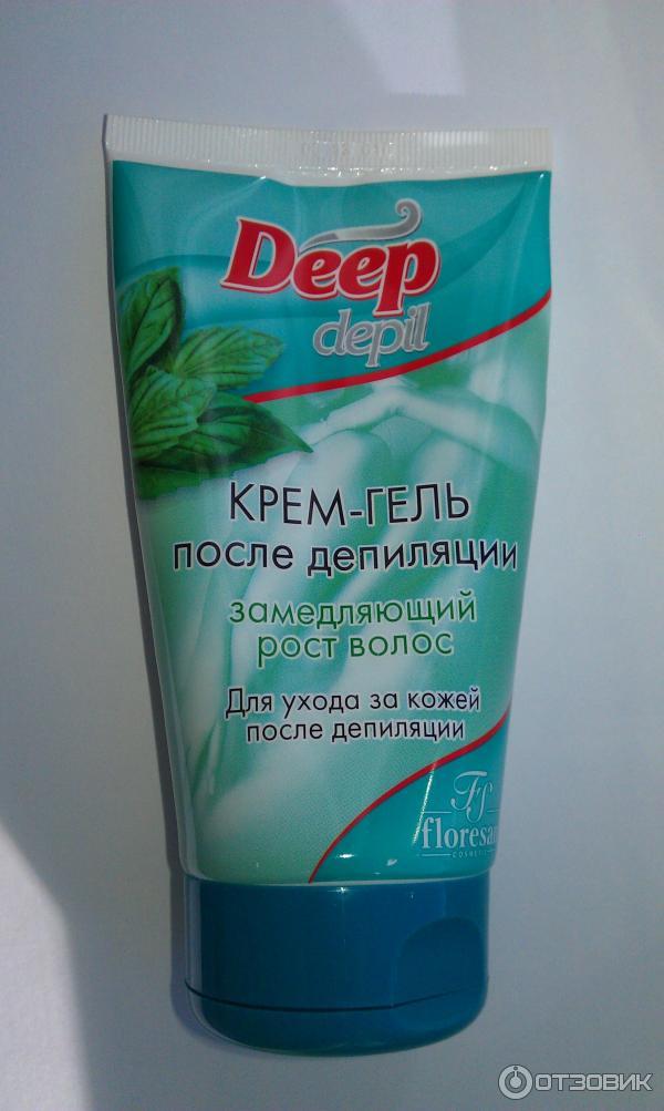 Крем для депиляции прекращает рост волос