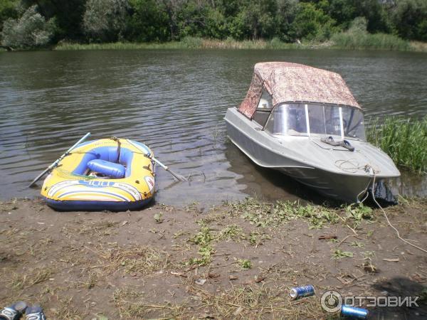 моя лодка казанка 5м4