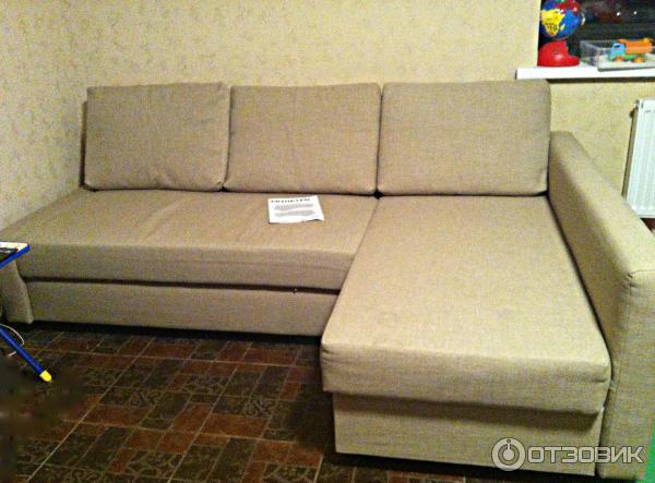 отзыв о диван кровать Ikea фрихетэн хороший не дорогой вариант