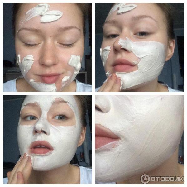 Глубоко очищающая маска лица домашних условиях