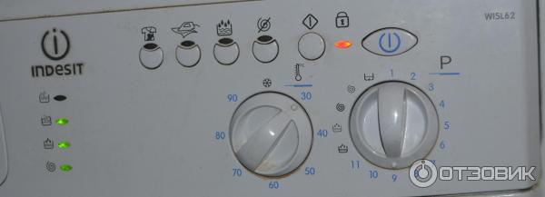 Indesit wisl 62 инструкция и характеристики к стиральной машине.