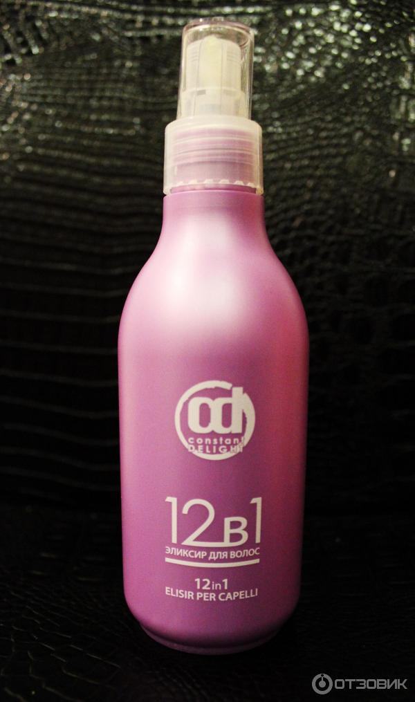 12 в 1 эликсир для волос констант делайт отзывы