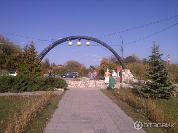 Смотровая площадка в поселке Управленческий на Волгу
