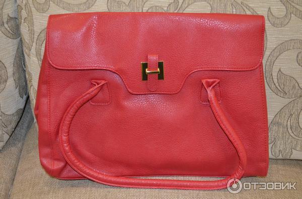 Обзор красной сумки Avon - YouTube