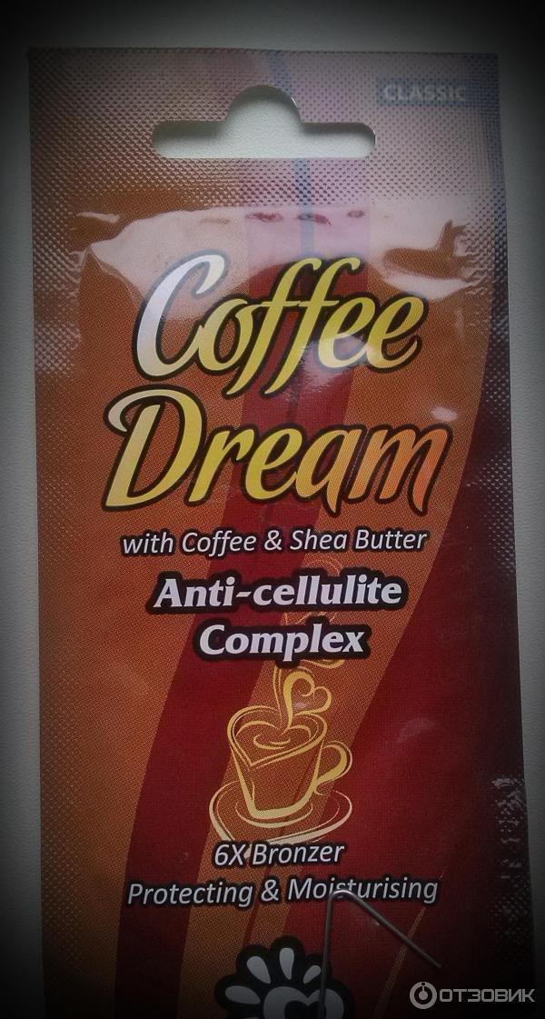 Загар из кофе и крема