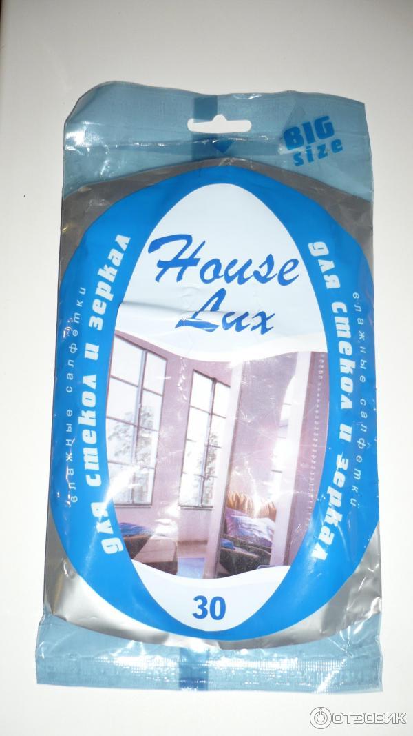 Влажные салфетки house lux