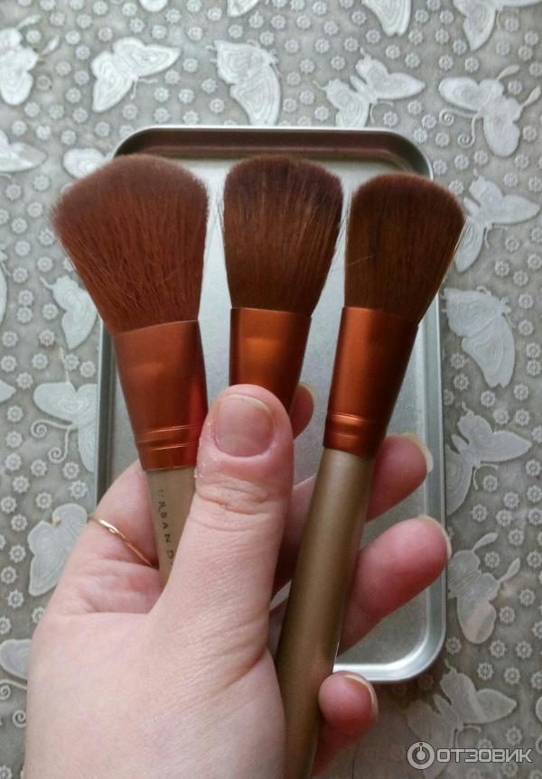 кисти для макияжа naked 3 какая для чего предназначена