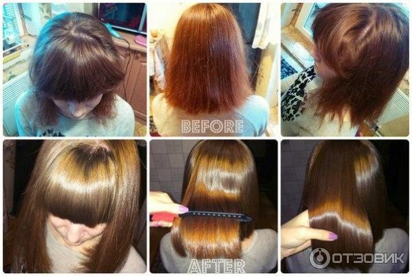 Goldwell перманентное выпрямление волос
