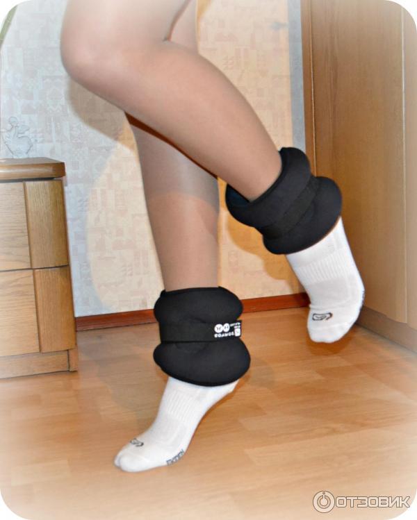 Как сделать утяжелители для ног в домашних 52