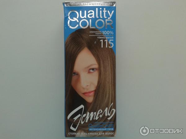 Краска для волос эстель гель краска