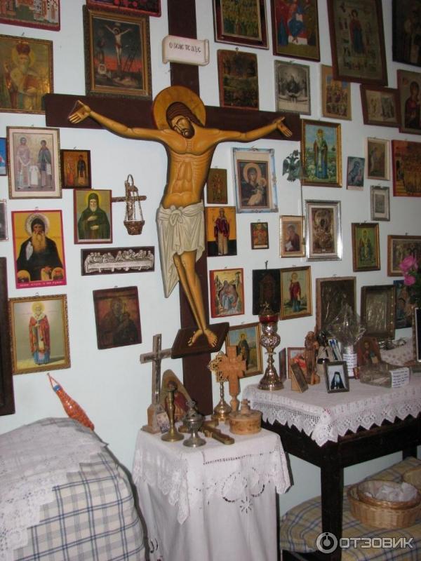 Келья старца Иакова монастырь св Давида о Эвбея