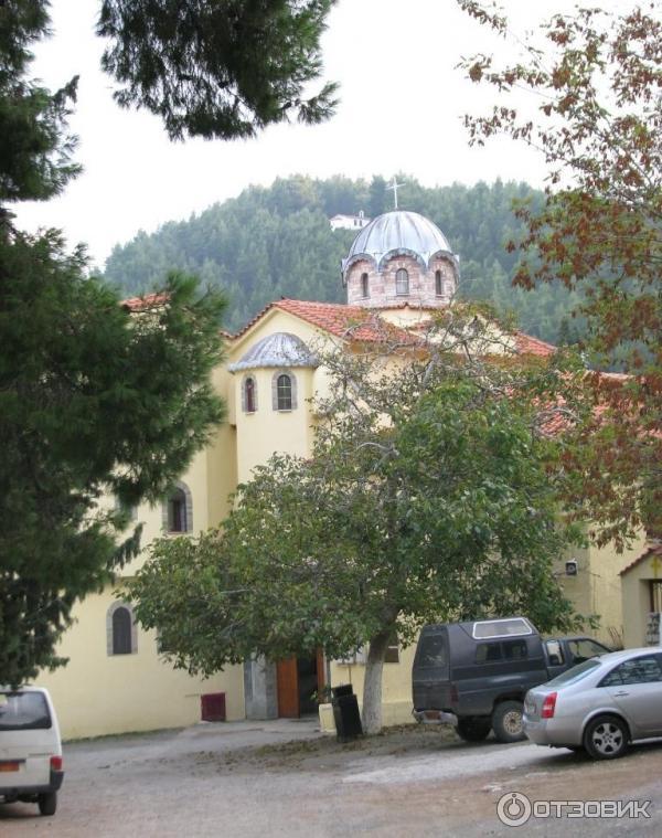 Монастырь святого Давида, остров Эвбея Греция