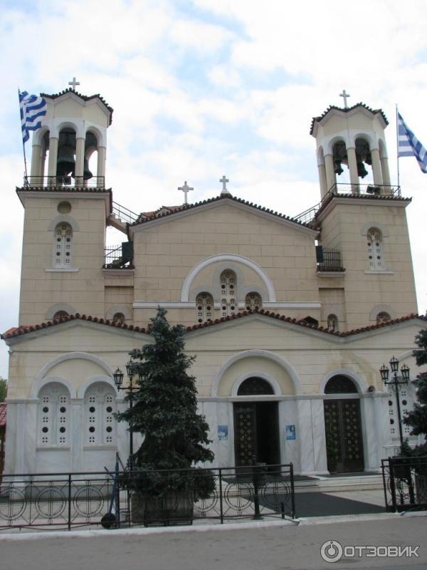 Храм святого Иоанна Русского остров Эвбея