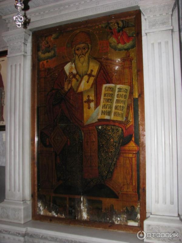 Икона св. Спиридона Тримифунтского