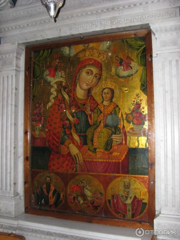Образ Божией Матери в храме св Иоанна Русского Эвбея