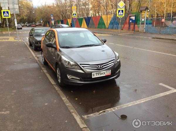 Делимобиль- сервис поминутной аренды автомобиля в Москве (Россия, Москва) фото