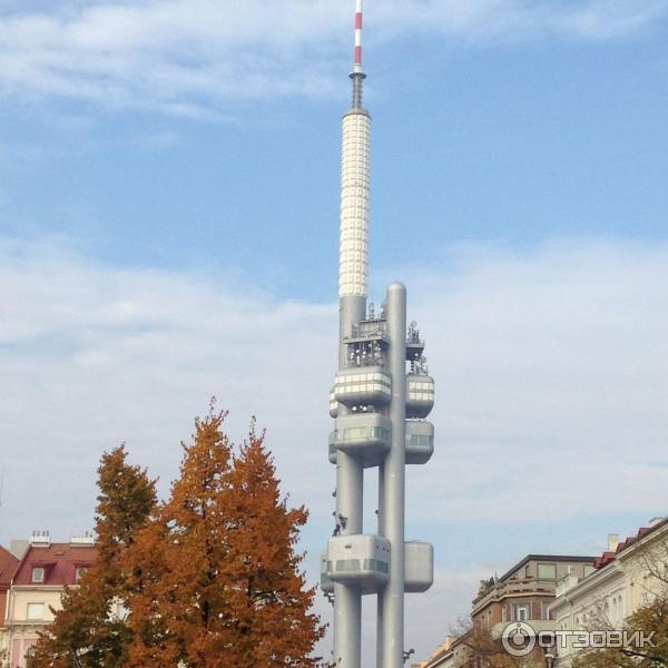 Телевизионная башня в Праге