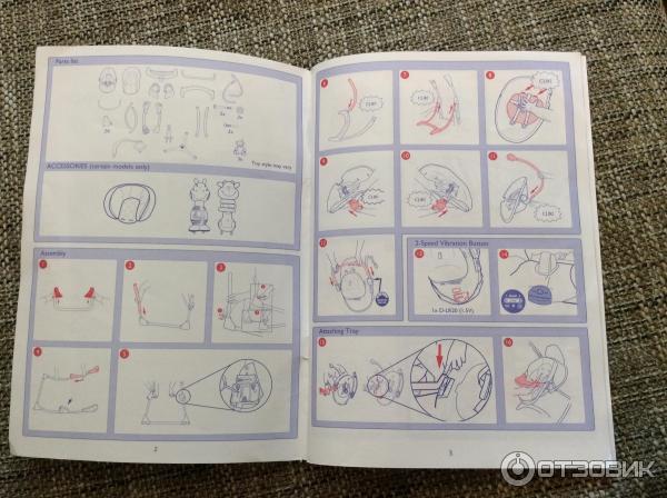 Инструкция по сборке Электрокачели Graco