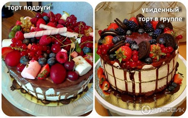 Красивый тортик своими руками с фото