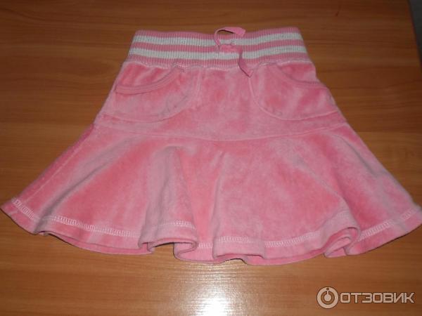 Розовые Велюровые Юбки