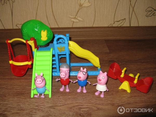 игровой набор игровая площадка свинка пеппа купить