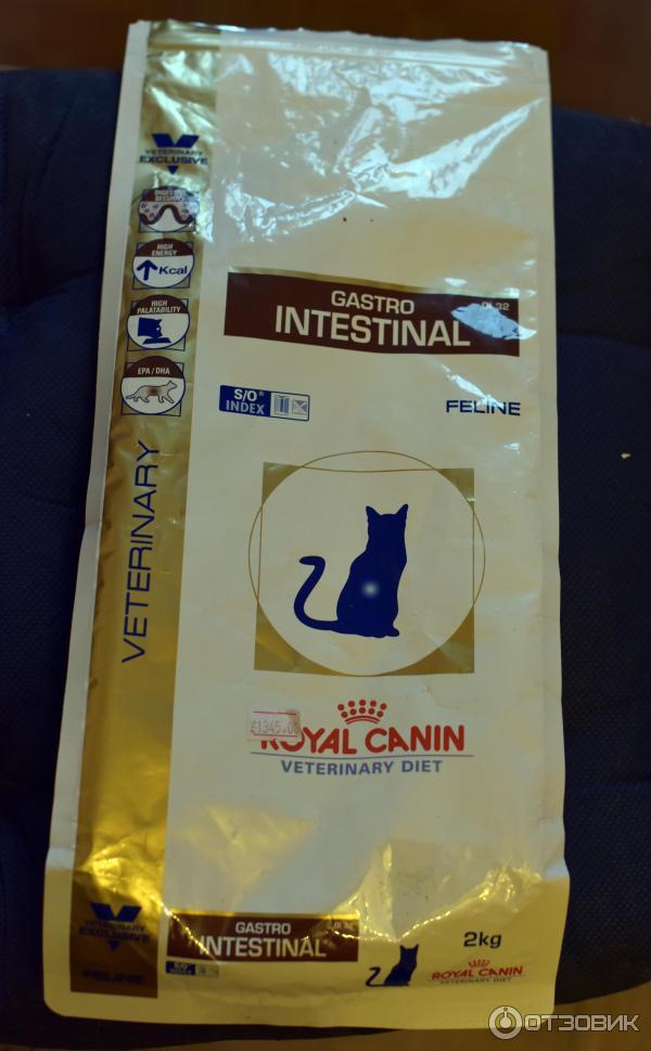 Корм royal canin feline gastro 100