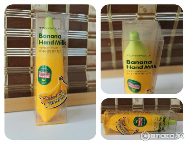 Крем-молочко для рук TONY MOLY Magic Food Banana Hand Milk фото