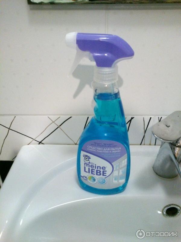 Meine Liebe cредство для мытья стекол, пластика и зекрал