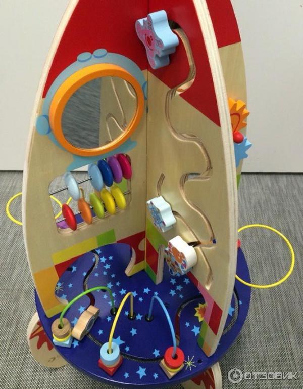 Многофункциональная развивающая игрушка ракета
