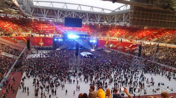 Открытие арена схема с местами на концерт 68