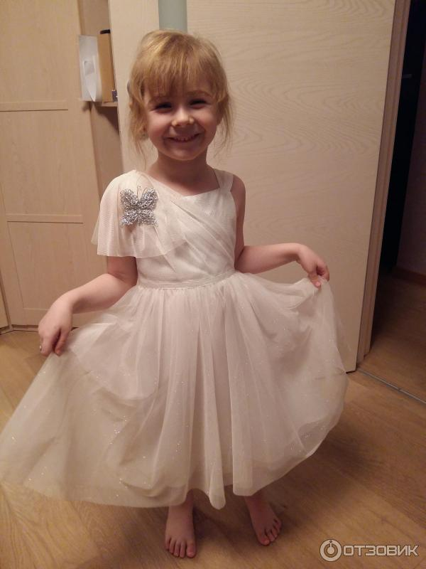 Платье снежинок на утренник