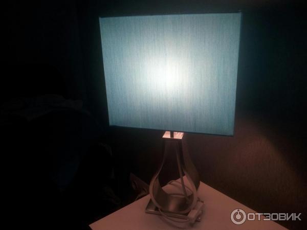 Настольные лампы с абажуром купить недорого в интернет