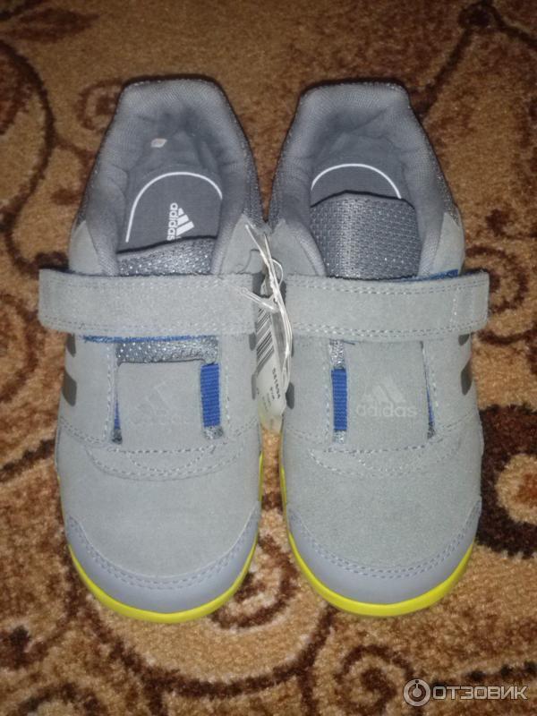 1507e8aa Отзыв о Детские кроссовки Adidas со стелькой ortholite | Адидас он и ...