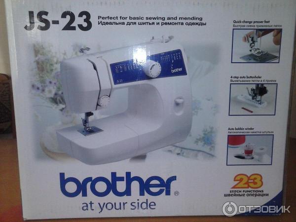 машинки js-23 швейной инструкция brother