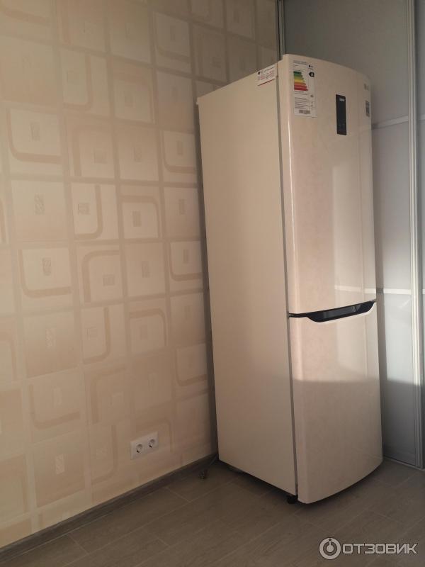 отзыв о холодильник Lg Ga B409 Seqa удобные полки красивый