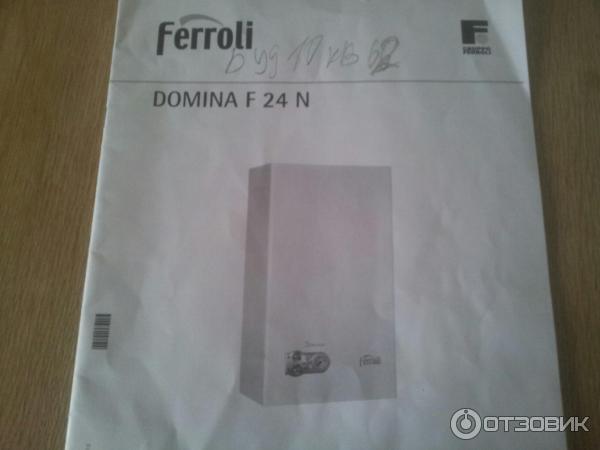 ferroli domina f24 n инструкция на русском
