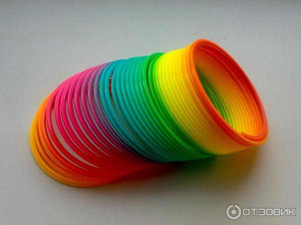 Игрушка радуга пружинка