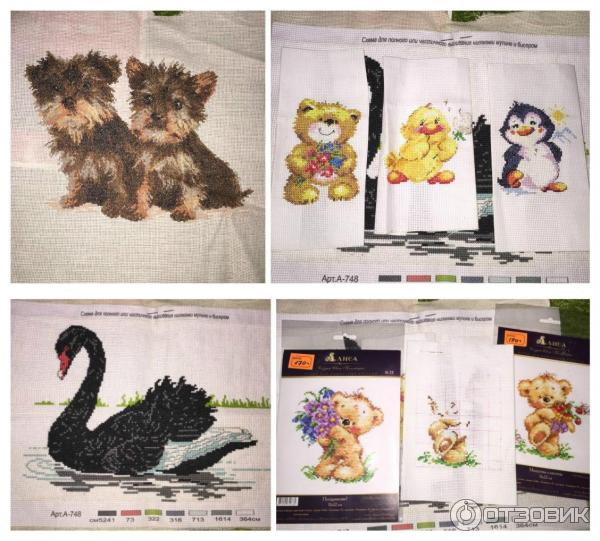 Отзывы по китайским наборам для вышивки 135