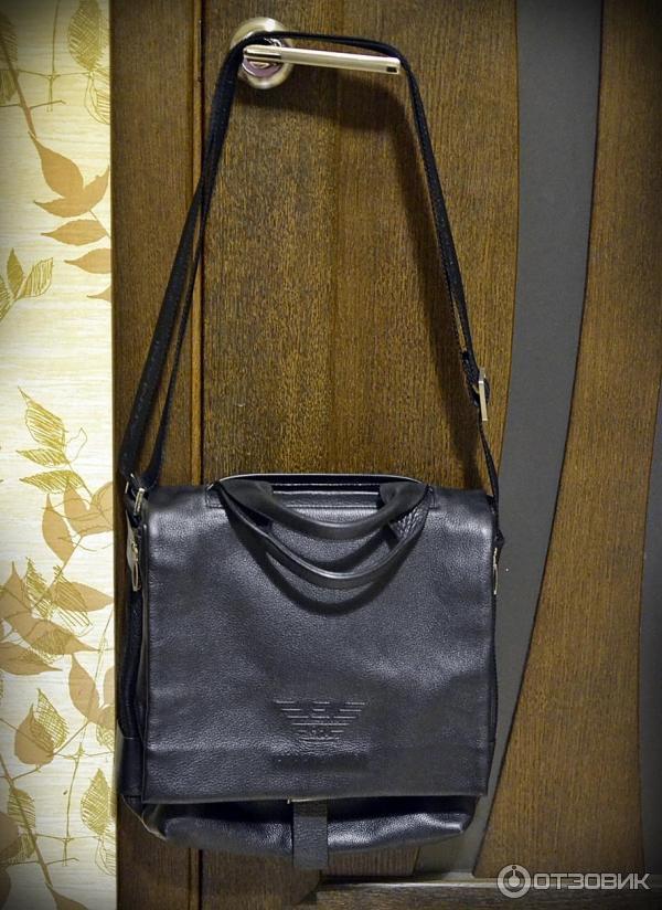 Купить мужская сумка armani